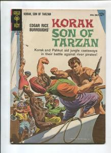 KORAK SON OF TARZAN #2 1964-GOLD KEY-RUSS MANNING-VF-
