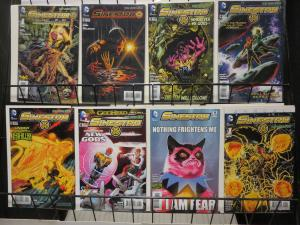 Sinestro (DC New 52 2014) #1-5 8 16 Annual Green Lantern Nemesis Hal Jordan