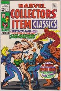 Marvel Collectors' Item Classics #19