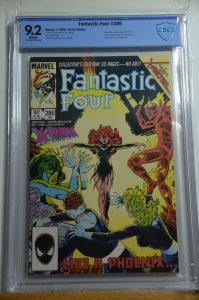 Fantastic Four #286 (1986) CBCS 9.2, White pages
