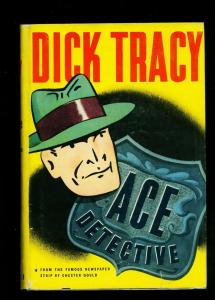 Dick Tracy Ace Detective hardcover with dust jacket 1945 Chester Gould
