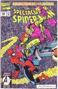 Spider-Man, Peter Parker Spectacular #200 (May-93) NM+ Super-High-Grade Spide...