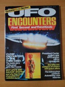 UFO Encounters Magazine #1 ~ VERY FINE - NEAR MINT NM ~ April 1978 First Second