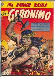 Geronimo #4 1952-Avon-Raymond Everett Kunstler-Gerald McCann-VG
