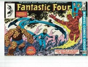 Fantastic Four (Vol. 1) #252 VF/NM with Lakeside Tattooz samples - Marvel 1983