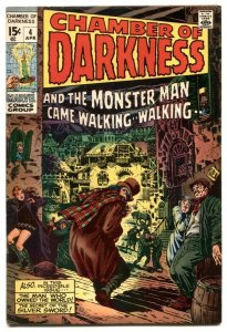 Chamber of Darkness #4 1970- CONAN prototype issue FN+