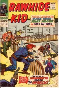 RAWHIDE KID (1960-1979) 58 VG June 1967 COMICS BOOK