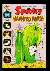 Spooky Haunted House #1 1972- Casper- Wendy- Harvey Comics- VF-