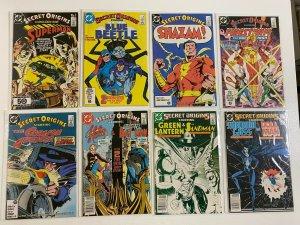 Secret Origins lot #1-50 + Specials 2nd Series DC 42 pieces 6.0 FN (1986-'90)