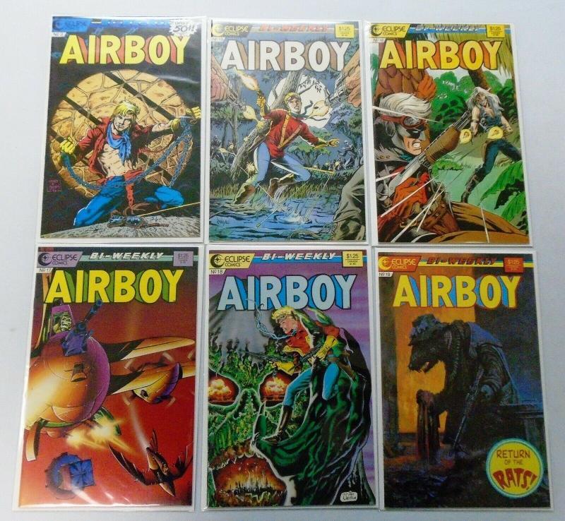 Airboy Run:#1-12 8.0/VF (1986+1987)