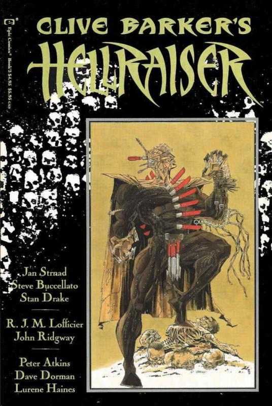 Hellraiser (Clive Barker's…) TPB #3 VF/NM; Epic | save on shipping - details ins