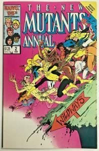 NEW MUTANTS ANNUAL#2 VF 1986 FIRST PSYLOCKE MARVEL COMICS