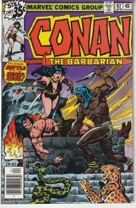 Conan The Barbarian(vol. 1) # 97 At the Mercy of the Beast King !