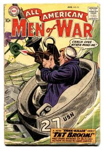 ALL-AMERICAN MEN OF WAR #72-comic book 1959-WWII-DC-SILVER AGE-TANK-KILLER