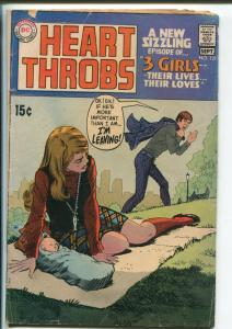 Heart Throb #121 1969-DC-3 Girls series-fashion panels-girl with baby cover-G