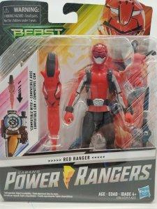 New Genuine Power Rangers Beast X Morphers Red Ranger Red Fury Mode Figure