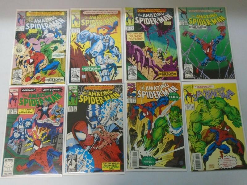 Hi-Grade Amazing Spider-Man comic lot 39 different issues (1991-95) 8.0/VF