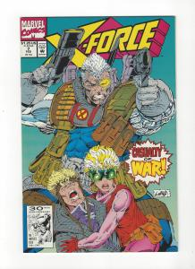 X-Force #7 Cable Cannonball NM
