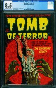 TOMB OF TERROR #2 CGC 8.5 1952-Pre-Code Horror 2000075007