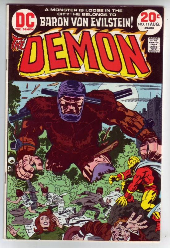Demon, The #11 (Aug-73) NM- High-Grade Jason Blood, Merlin