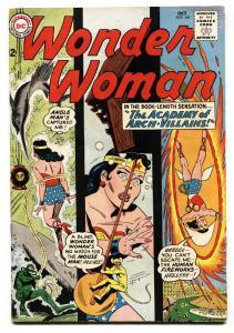 Wonder Woman #141 comic book DC COMICS-Silver-Age 1963 FN-