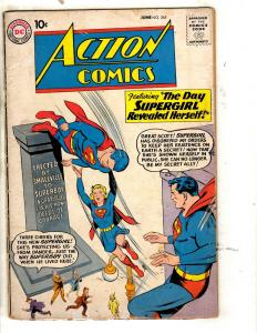Action Comics # 265 VG DC Comic Book Silver Age Superman Batman Flash Arrow J321