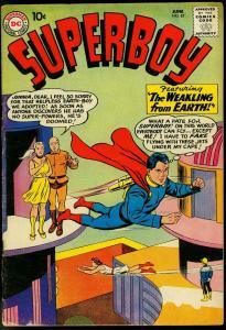 SUPERBOY #81 1960-DC COMICS-ROCKET POWERED FLIGHT2 G