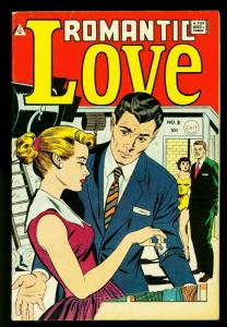 Romantic Love #3- IW reprint- Boxing cover- Dr Anthony King Love Doctor VG