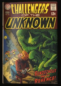 Challengers Of The Unknown #66 VG- 3.5