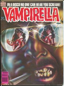 Vampirella #84 1980-Warren-Horror cover-Nicola Cuti-Val Mayerite-FN