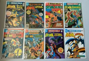 Brave + Bold lot from:#156-199 1st Series 34 diff books avg 6.0 FN (1979-1983)
