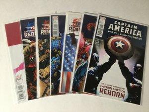 Captain America Reborn 1-6 #5 Cassidy Variant + Shield Lot Nm Near Mint Marvel
