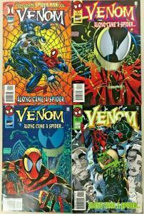 VENOM ALONG CAME A SPIDER#1-4 VF/NM LOT 1996 MARVEL COMICS