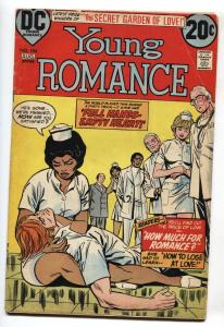 Young Romance #194 1973 COMIC BOOK Interracial Romance-Nurse DC