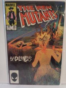 The New Mutants #20