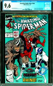Amazing Spider-Man #344 CGC Graded 9.6 1 Appearance of Carnage & Cardiac