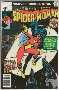 Spider Woman #1 ORIGINAL Vintage 1978 Marvel Comics