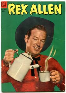 Rex Allen Comics #10 1953- Dell Golden B-Western FN-