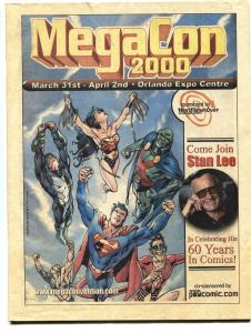 MegaCon Orlando Program Book 2000-Stan Lee-Convention info