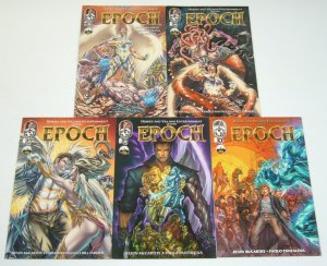 Heroes and Villains Entertainment Presents Epoch #1-5 VF/NM complete series set