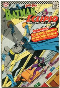 Brave and the Bold #64 1966- Batman- Eclipso- DC Silver Age VG