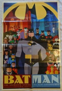 BATMAN Promo poster, 22 x 34, 2015, DC,  Gotham Unused more in our store  026