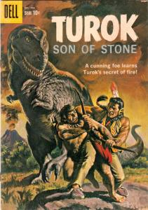 Turok Son of Stone #18 (Dec-59) FN/VF Mid-High-Grade Turok, Andar