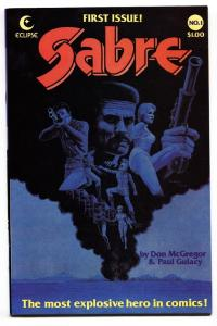 Sabre #1 1982-Eclipse-Comic Book First issue NM-