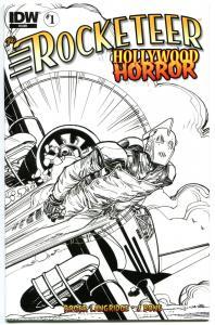 ROCKETEER HORROR #1, NM, Dave Stevens, Walter Simonson, Variant, 2013