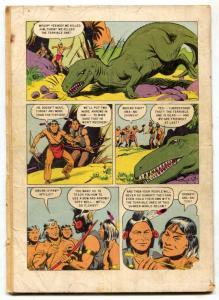 Four Color Comics #596 1954- 1st TUROK fair
