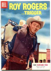 Roy Rogers #94 1955- Dell Western comic F/VF
