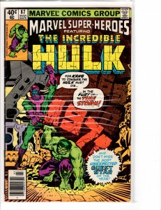 Marvel Super-Heroes (1967) 87 Fine/Very Fine (7.0)