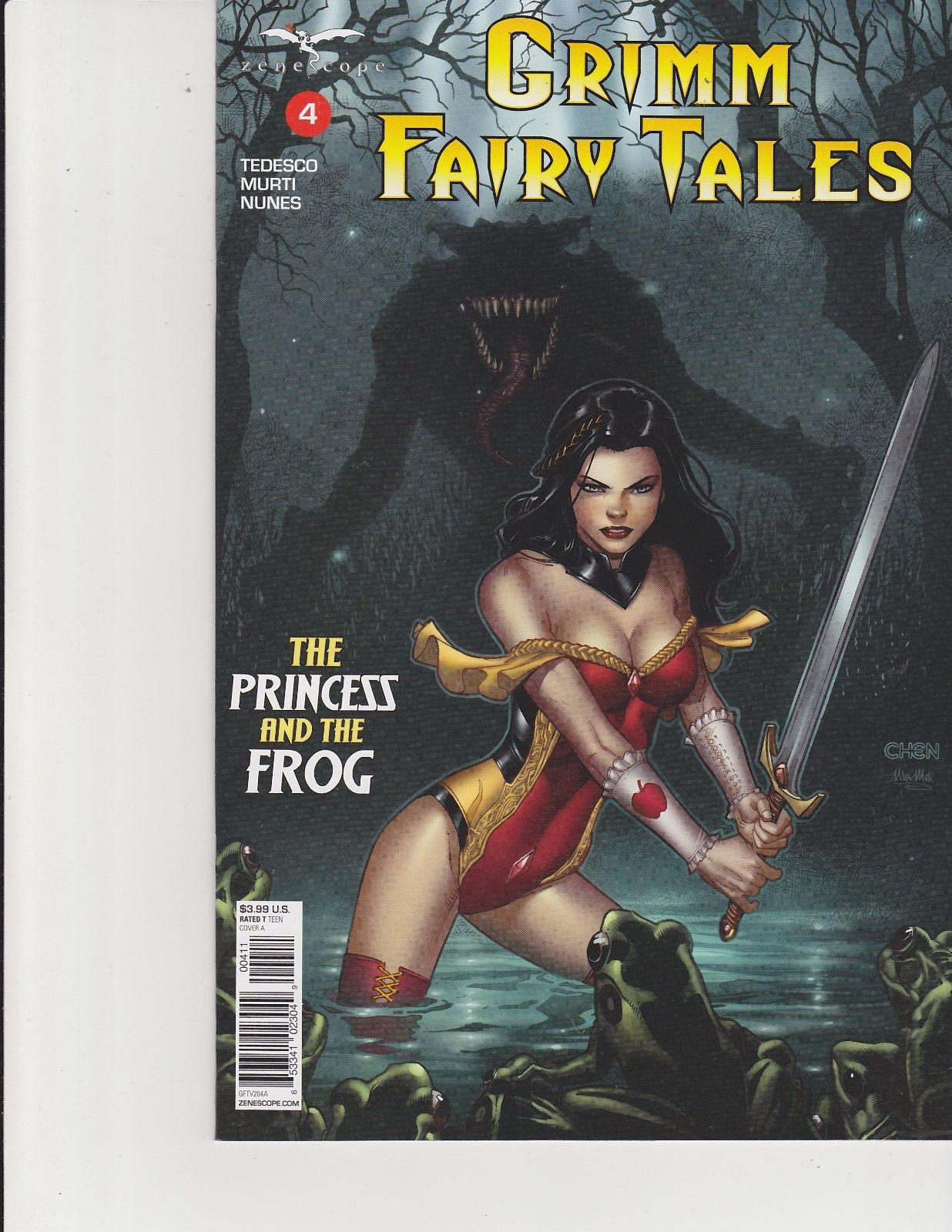 Grimm Fairy Tales Vol 2 #18 Cover B NM 2018 Zenescope