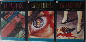 LA PACIFICA Vols. 1-3 Paradox Mystery DC Comics GN Comp Set F-VF B&W 1st Print